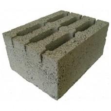 Блок керамзитобетонный 6-ти пустотный стеновой | 390х290х188 | М75 | Калита