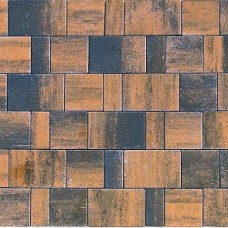 Плитка тротуарная СТАРЫЙ ГОРОД ЛАНДХАУС вибропрессованная Color Mix тип 5 ТЕХАС   80х160   BRAER