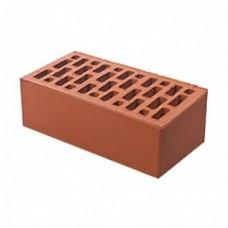 Кирпич облицовочный керамический «Красный» гладкий 1 НФ| 250х120х65 | М150 | ТД Браер