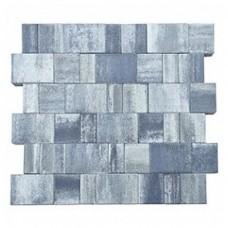 Плитка тротуарная СТАРЫЙ ГОРОД ЛАНДХАУС вибропрессованная Color Mix тип 7 ТУМАН | 160х160х60 | BRAER