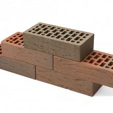 Кирпич облицовочный керамический «Баварская кладка» риф 1 НФ | 250х 120х 65 | М150 | ТД Браер