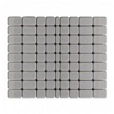 Плитка тротуарная КЛАССИКО вибропрессованная Серый | 172х115х60 | BRAER