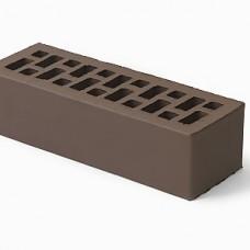 Кирпич облицовочный керамический коричневый гладкий 0,7 НФ | 250х85х65 | М150 | ТД Браер