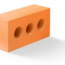 Кирпич силикатный утолщенный лицевой пустотелый (3) объемно-окрашенный «Оранжевый» 1,4 НФ | 250x120x88 | M200 | Ковров