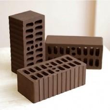 Кирпич облицовочный утолщенный пустотелый «Темный Шоколад» 1,4 НФ | 250х120х88 | М150 | Клим Клинкер