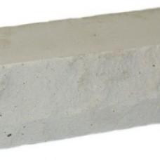 Кирпич силикатный одинарный лицевой колотый неокрашенный 1,4 НФ | 250х60х88 | М150 | Ковров