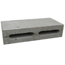 Блок керамзитобетонный пустотелый перегородочный (К0,5у) | 390х90х188 | ГС-Блок