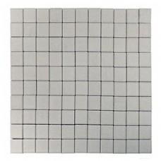 Плитка тротуарная ЛУВР вибропрессованная Белый | 200х200 | BRAER