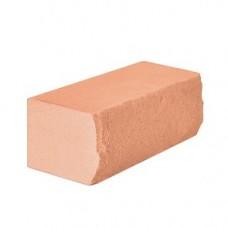 Кирпич силикатный одинарный лицевой с рустированной ложковой гранью «Оранжевый» 1 НФ | 250x95x65 | M200 | Ковров