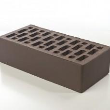 Кирпич облицовочный керамический коричневый гладкий 1 НФ | 250х120х65 | М150 | ТД Браер