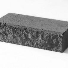 Кирпич силикатный утолщенный лицевой (декоративный) колотый «Черный» 1,4 НФ | 250x120x88 | M200 | Ковров