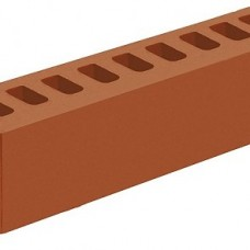 Кирпич облицовочный «Красный» пустотелый 0,5 НФ   250х65х65   M200   Железногорск КЗ