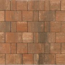 Плитка тротуарная СТАРЫЙ ГОРОД НОРД вибропрессованная Color Mix тип 4 Койот | 160х160 | BRAER