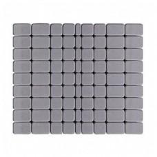 Плитка тротуарная КЛАССИКО вибропрессованная Грифельный | 115х115х60 | BRAER
