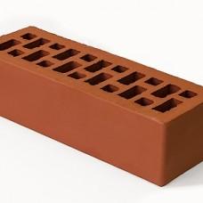 Кирпич облицовочный керамический красный гладкий 0,7 НФ | 250х85х65 | М150 | ТД Браер