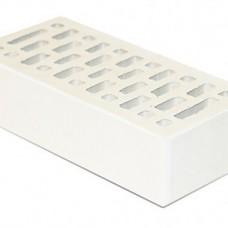 Кирпич облицовочный «Белый» пустотелый гладкий 1 НФ | 250х120х65 | М175 | Старый Оскол КЗ