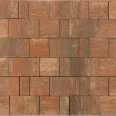 Плитка тротуарная СТАРЫЙ ГОРОД НОРД вибропрессованная Color Mix тип 4 Койот | 240х160 | BRAER
