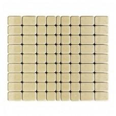 Плитка тротуарная КЛАССИКО вибропрессованная Песочный | 57х115х60 | BRAER