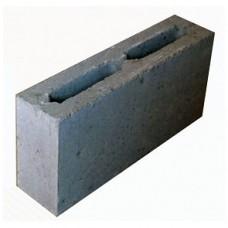 Перегородка керамзитобетонная пустотелая   390х80х188   М35   Калита