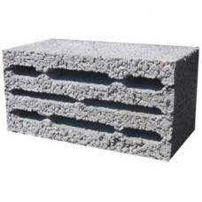 Блок керамзитобетонный (К8л) | 390х190х188 | ГС-Блок