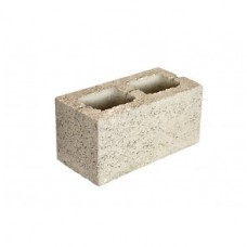 Блок керамзитобетонный 2-х пустотный стеновой | 390х190х188 | М35 | Калита