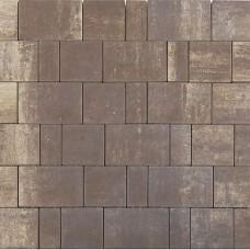 Плитка тротуарная СТАРЫЙ ГОРОД ЛАНДХАУС вибропрессованная Color Mix тип 19 Эверест   160х160   BRAER
